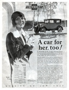 Chevrolet Cars -1927A
