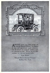 Babcock Electric Carriages -1911A