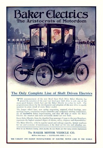 Baker Electric Cars -1910A