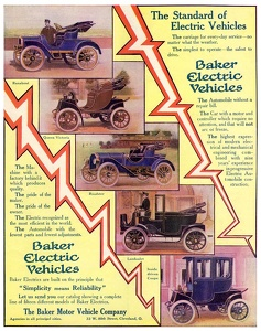 Baker Electric Vehicles -1908A