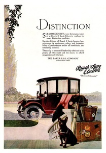 Baker and Rauch Electric Cars -1917A