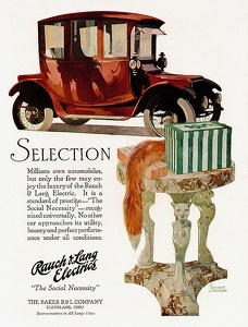 Baker and Rauch Electric Cars -1917B