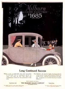 Milburn Electric Automobiles -1917A