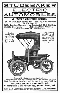 Studebaker Electric Automobiles -1903A