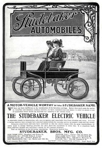 Studebaker Electric Automobiles -1902A