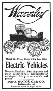 Waverley Electric Cars -1903A