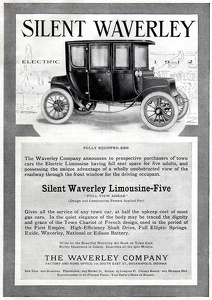 Waverley Electric Limousines -1911A