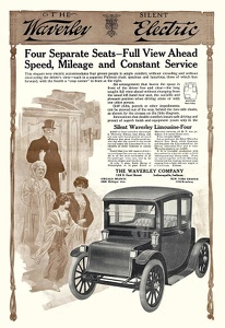 Waverly Electric Limousines -1912B