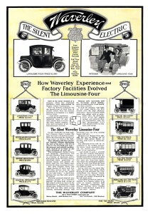 Waverly Electric Limousines -1913A