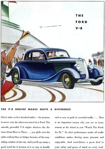 Ford Cars -1934A