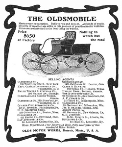 Oldsmobile Cars -1902A