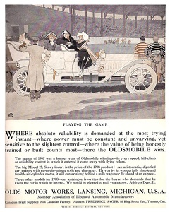 Oldsmobile Cars -1907A