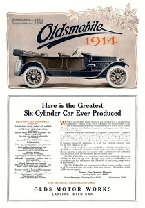 Oldsmobile Cars -1913A