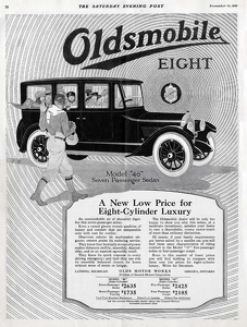 Oldsmobile Cars -1921A