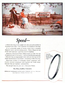American Hammered Piston Rings -1920A