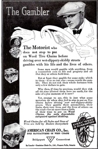 Weed Tire Chains -1917A