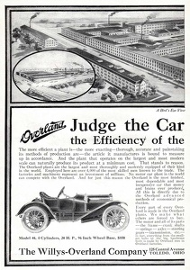 Willys-Overland Cars -1911A
