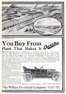 Willys-Overland Cars -1911B