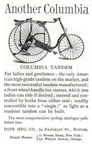 Columbia Tandem Bicycles -1888A