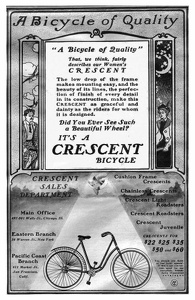 Crescent Bicycles -1901A