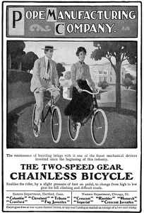 Pope Chainless Bicycles -1904A