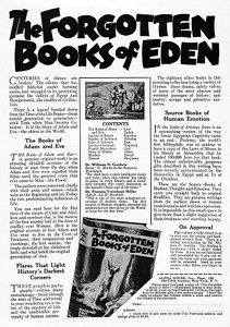 Forgotten Books of Eden -1927A