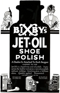 Bixby's Shoe Polish -1920A