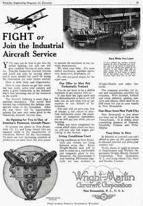 Industrial Aircraft Service - Wright-Martin 1918A