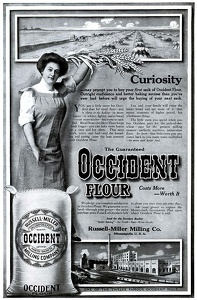 Occident Flour -1911A