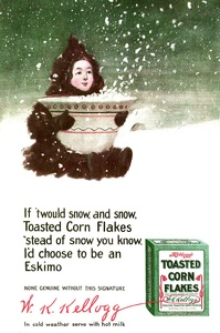 Kellogg's Toasted Corn Flakes -1910A