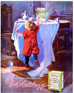 Kellogg's Toasted Corn Flakes -1912A