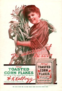 Kellogg's Toasted Corn Flakes -1907A