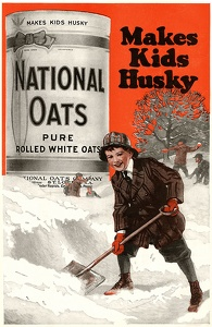 National Oats Cereal -1920A