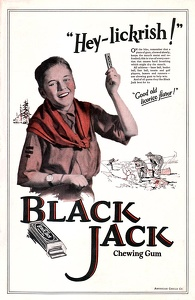 Black Jack Chewing Gum -1923A