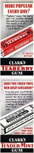 Clark's Chewing Gum -1939A