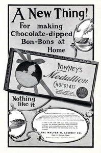 Lowney's Medallion Chocolate -1901A