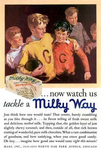 Milky Way Candy Bars -1930A