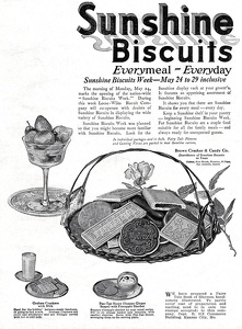 Sunshine Biscuits -1920A