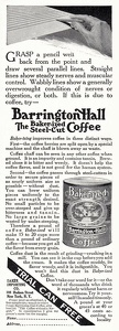 Barrington Hall Coffee -1911A