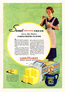 Land O Lakes Butter -1933A
