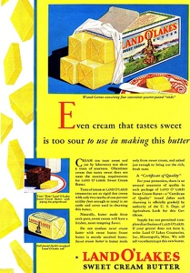 Land O' Lakes Butter -1931A
