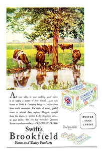 Swift's Brookfield Butter -1925A