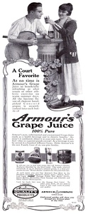 Armour Grape Juice -1916A
