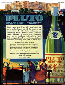 Pluto Water -1918A