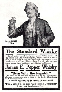 James E. Pepper Whisky -1911A
