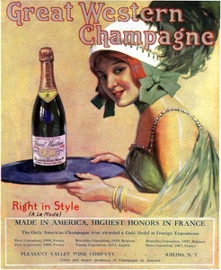 Great Western Champagne -1914A