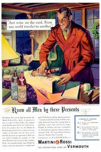 Martini and Rossi Vermouth -1938A