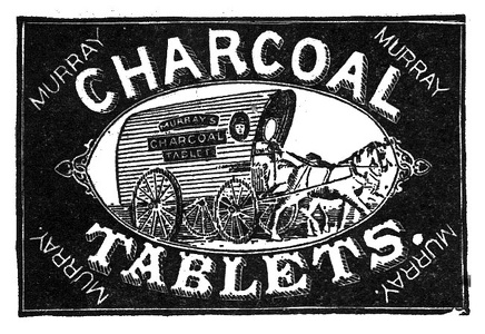 Murray's Charcoal Tablets -1892A