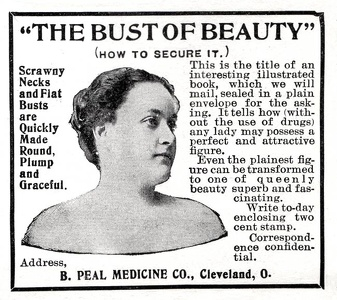 Peal Bust of Beauty -1899A
