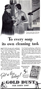Gold Dust Washing Powder -1931A